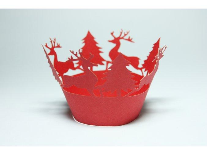 Červený vánoční