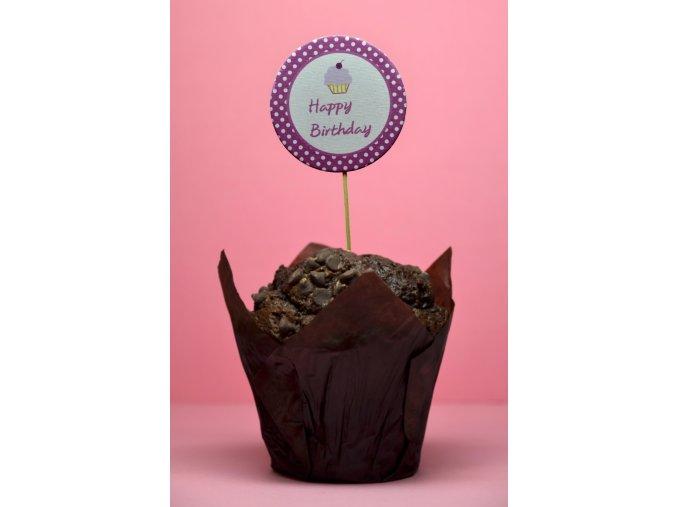 Happy birthday fialové